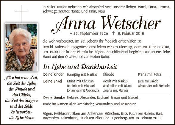 Anna Wetscher