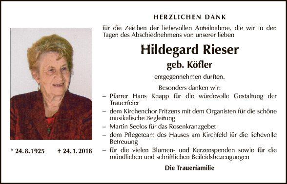 Hildegard Rieser