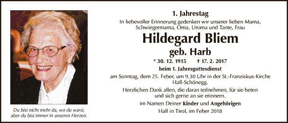 Hildegard Bliem