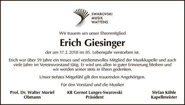Erich Giesinger