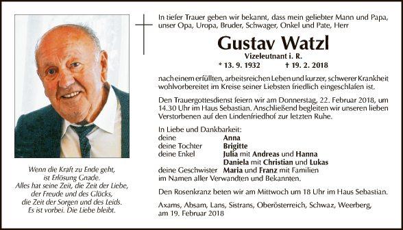 Gustav Watzl