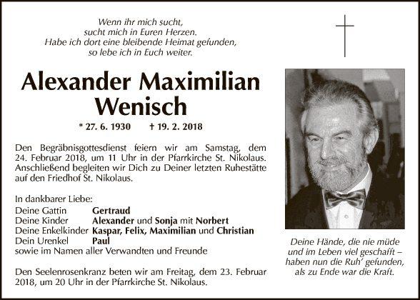 Alexander Wenisch