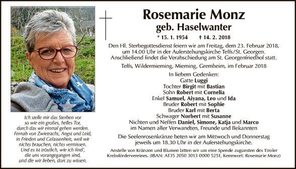 Rosemarie Monz