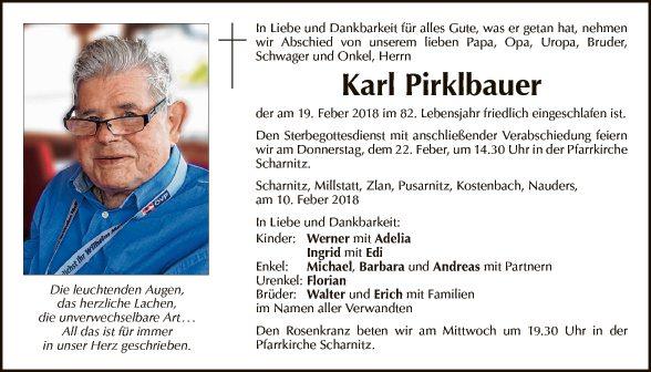 Karl Pirklbauer
