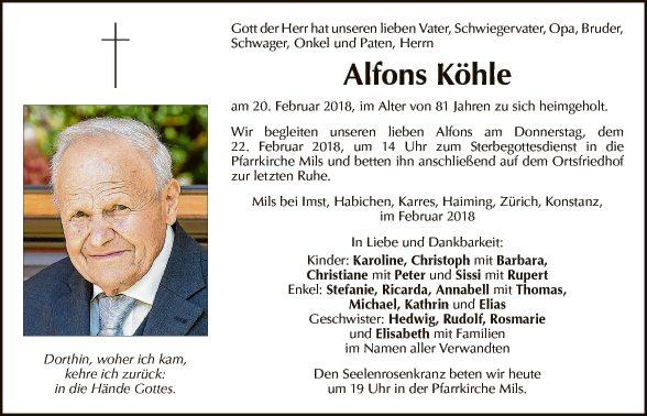 Alfons Köhle