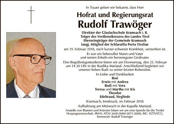 Rudolf Trawöger