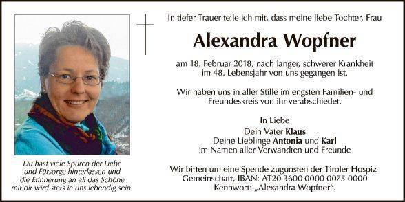 Alexandra Wopfner