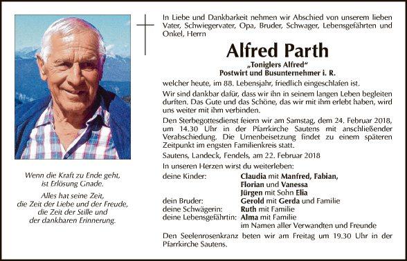 Alfred Parth