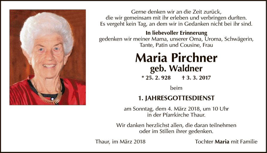 Maria Pirchner