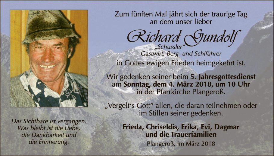 Richard Gundolf