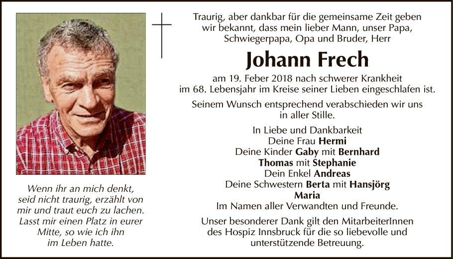 Johann Frech