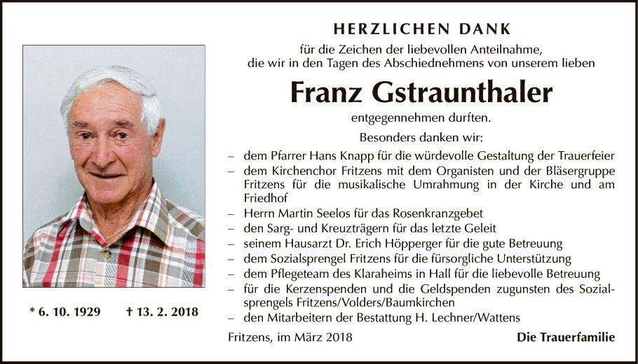 Franz Gstraunthaler