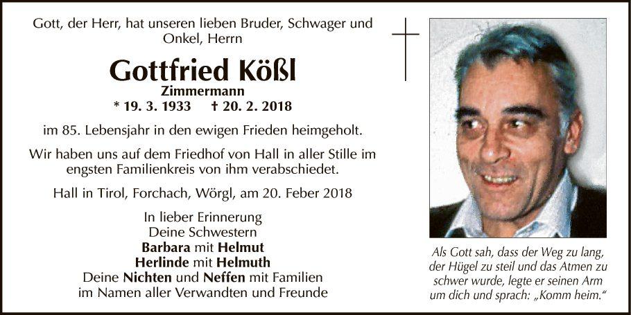 Gottfried Kößl