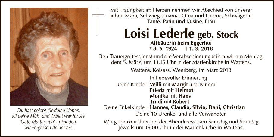 Loisi Lederle