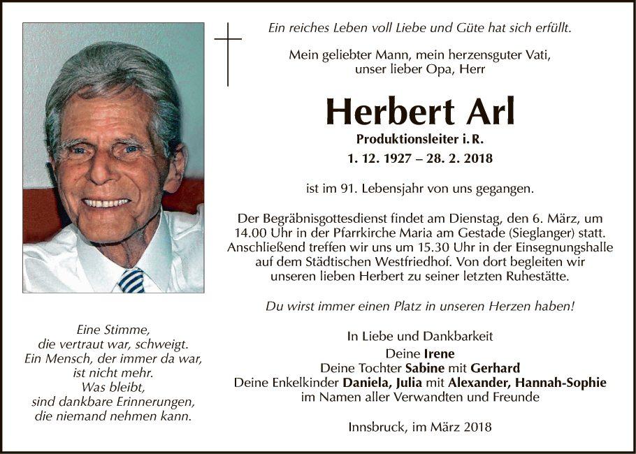 Herbert Arl
