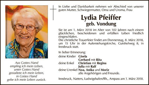 Lydia Pfeiffer