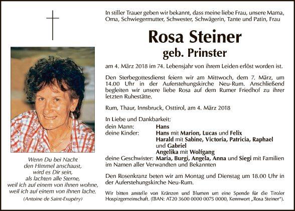 Rosa Steiner