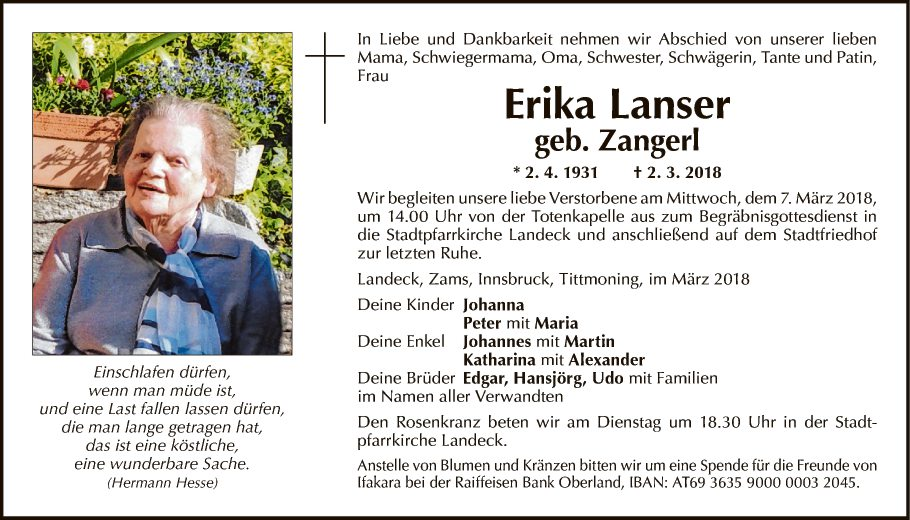 Erika Lanser