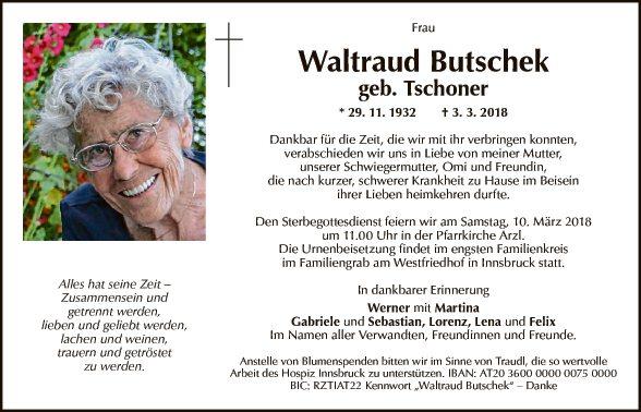 Waltraud Butschek