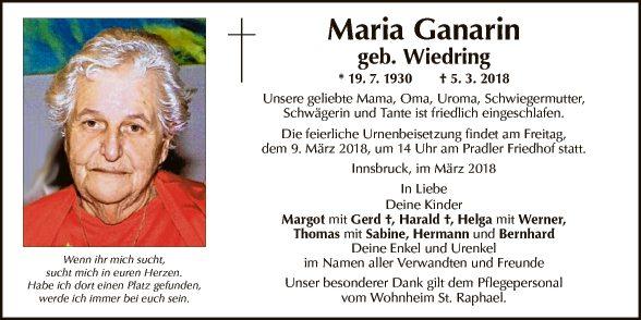 Maria Ganarin