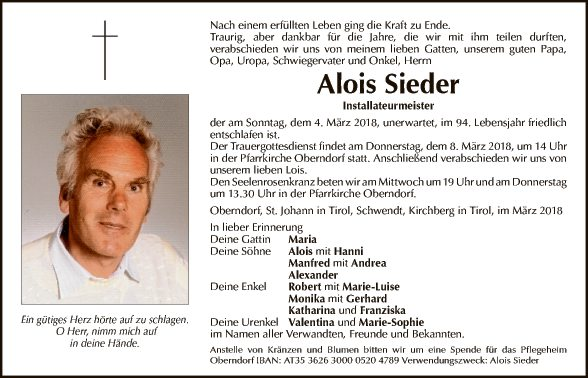 Alois Sieder
