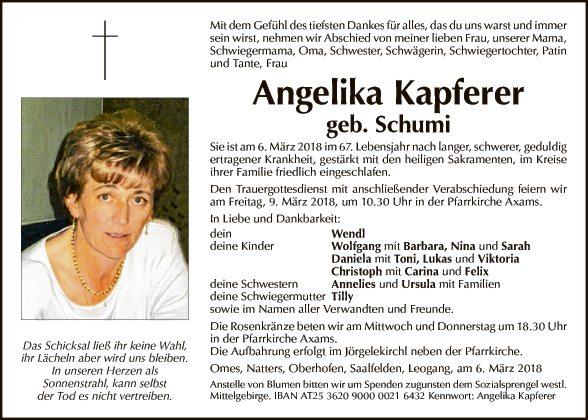 Angelika Kapferer