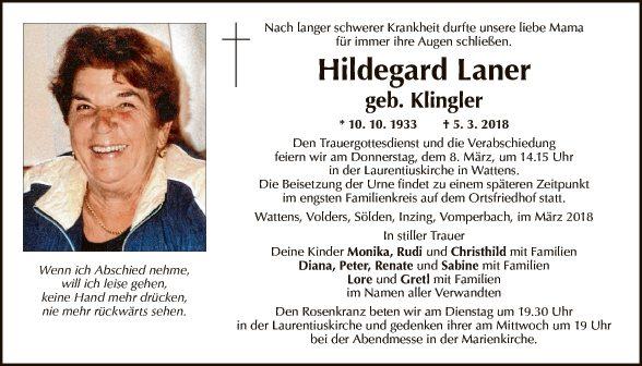 Hildegard Laner