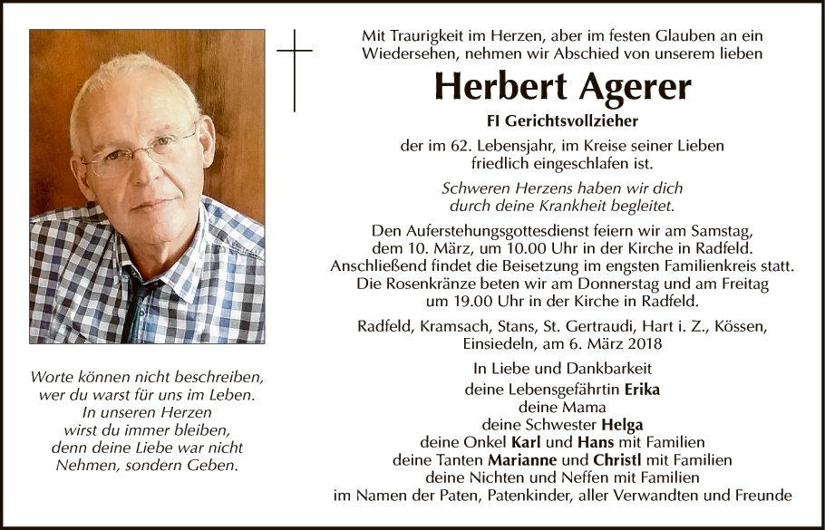 Herbert Agerer