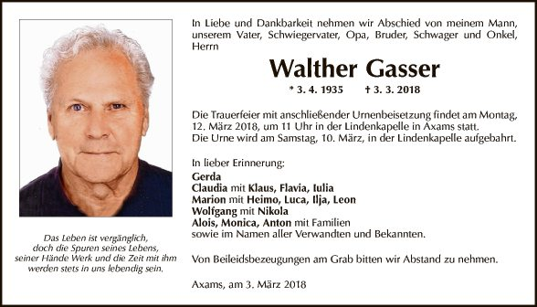Walther Gasser