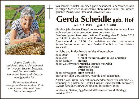 Gerda Scheidle