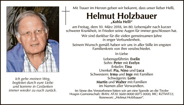 Helmut Holzbauer