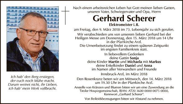 Gerhard Scherer