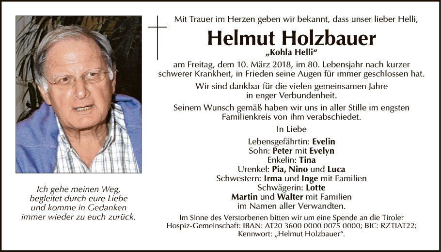 Helmut Holzbauer