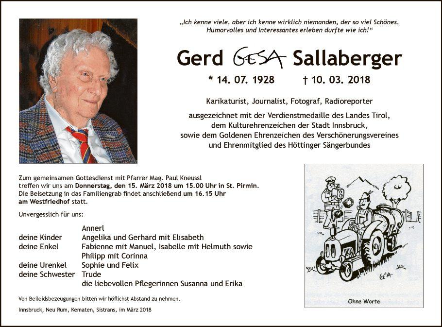 Gerd Sallaberger