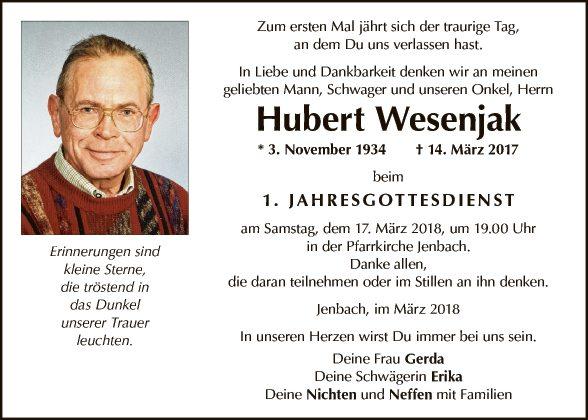 Hubert Wesenjak