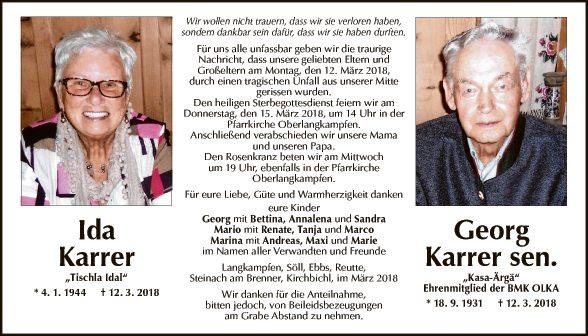 rg + Ida Karrer
