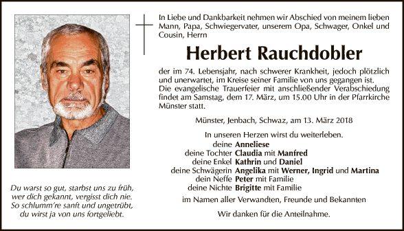Herbert Rauchdobler