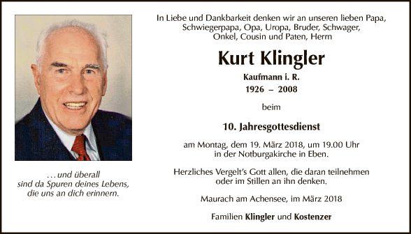 Kurt Klingler