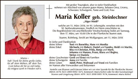 Maria Koller
