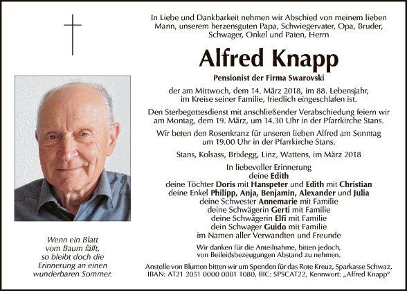 Alfred Knapp