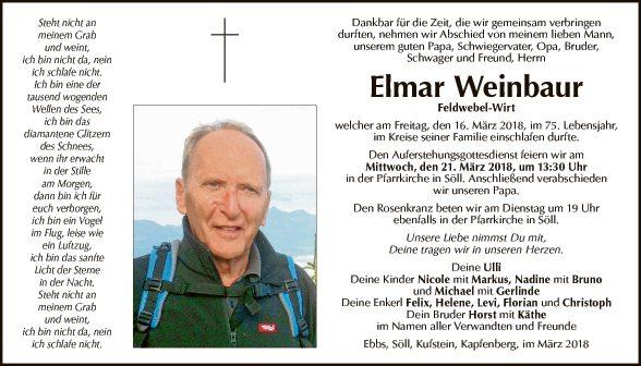 Elmar Weinbaur