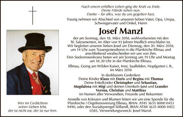 Josef Manzl