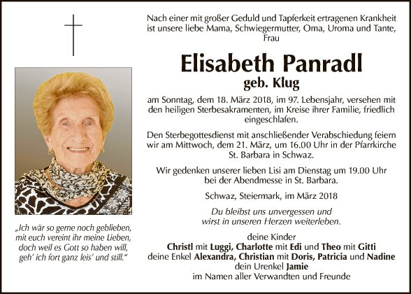 Elisabeth Panradl