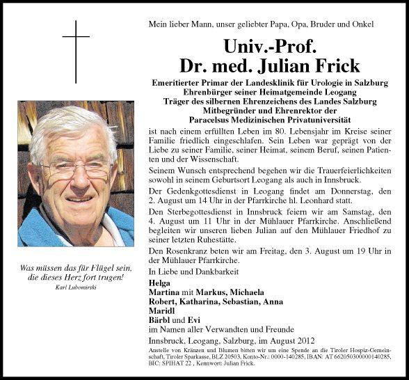 Julian Frick