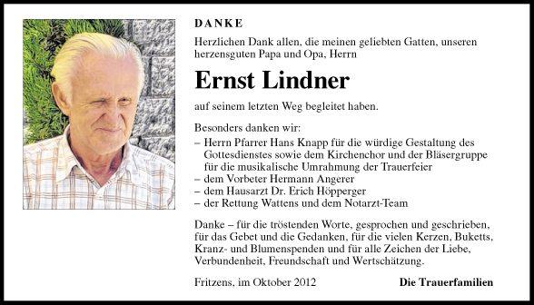 Ernst Lindner