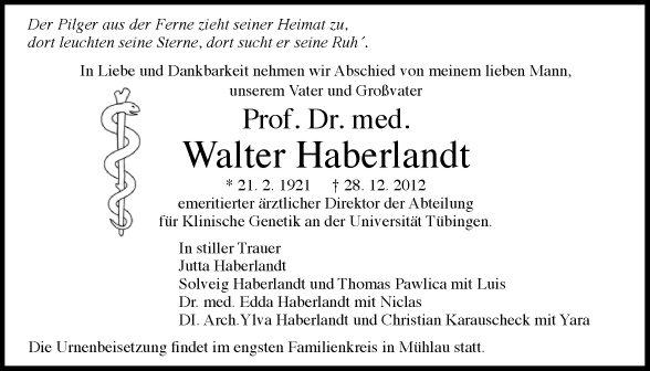 Walter Haberlandt