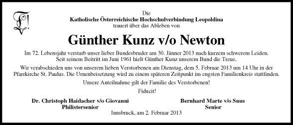 Günther Kunz