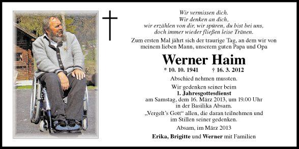 Werner Haim