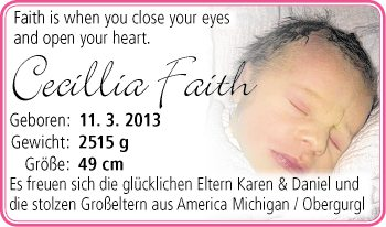 Cecillia Faith