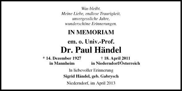 Paul Händel